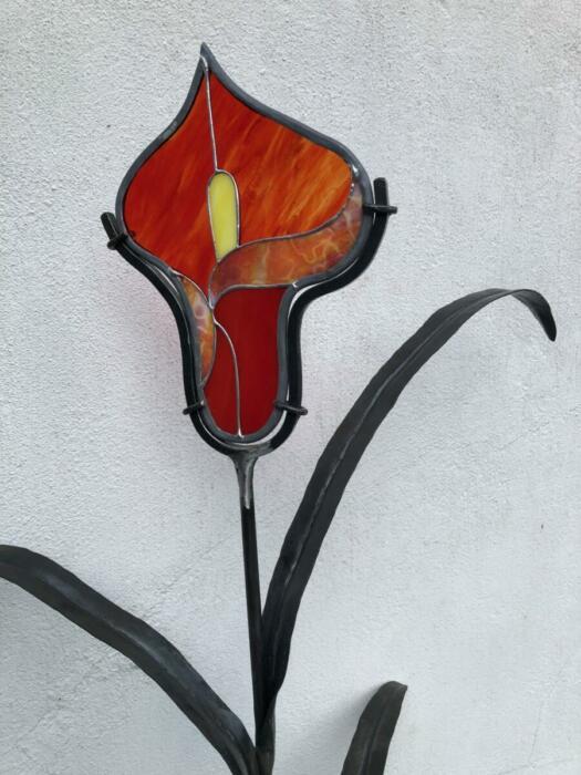 Blomma närbild